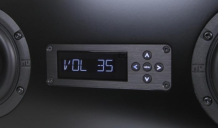 Nubert nuPro AS-250 Display Bedienelemente