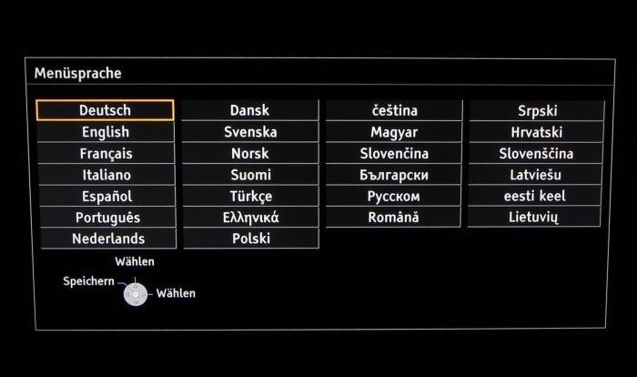 Panasonic TX-P65AXW804 Screenshot 1
