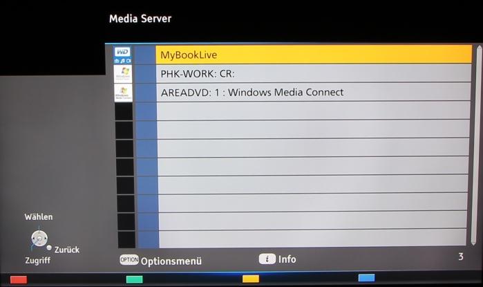 Panasonic TX-P65AXW804 Screenshot 15