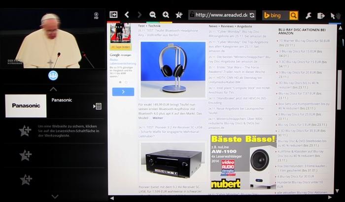 Panasonic TX-P65AXW804 Screenshot 22