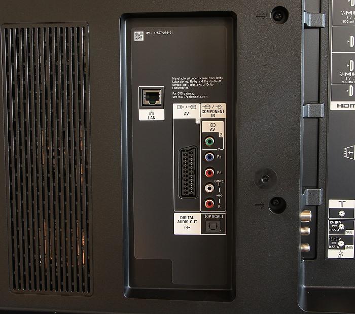 Sony KD65S9005 Anschluesse Rueckseite1