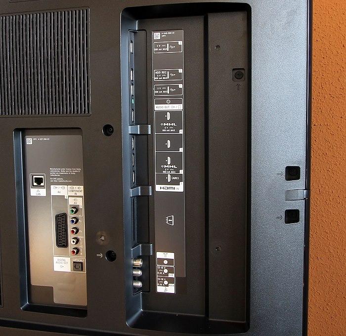 Sony KD65S9005 Anschluesse Rueckseite2
