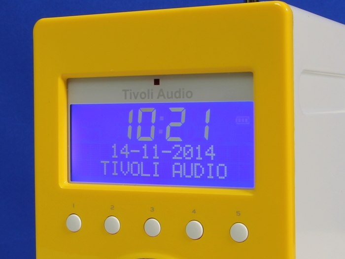 Tivoli PAL Plus Display Bedienelemente