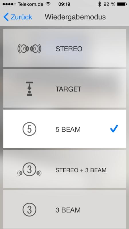 Yamaha HT Controller App 4