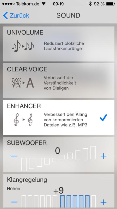 Yamaha HT Controller App 6