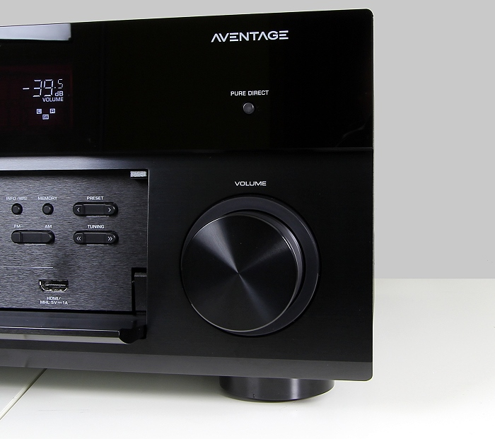 Yamaha RX-A1040 Bedienelemente Front1