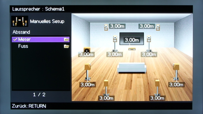 Yamaha RX-A1040 Screenshot 10