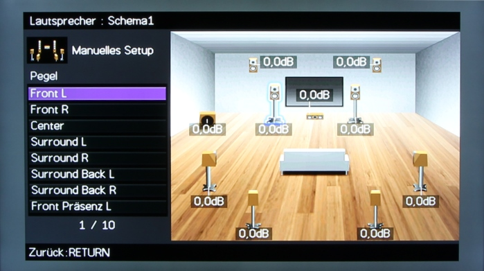 Yamaha RX-A1040 Screenshot 11