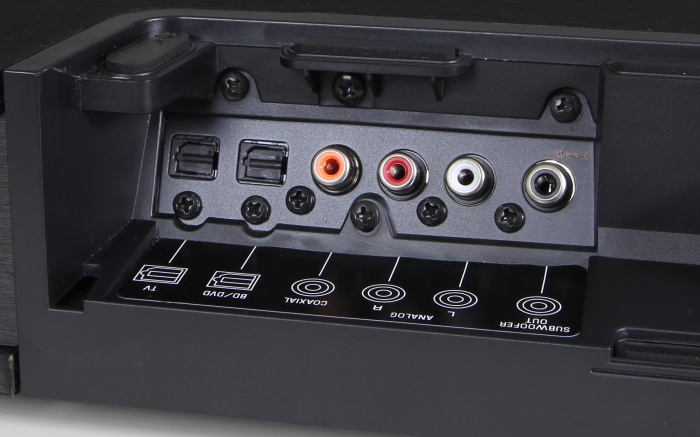 Yamaha SRT-1000 Anschluesse Rueckseite