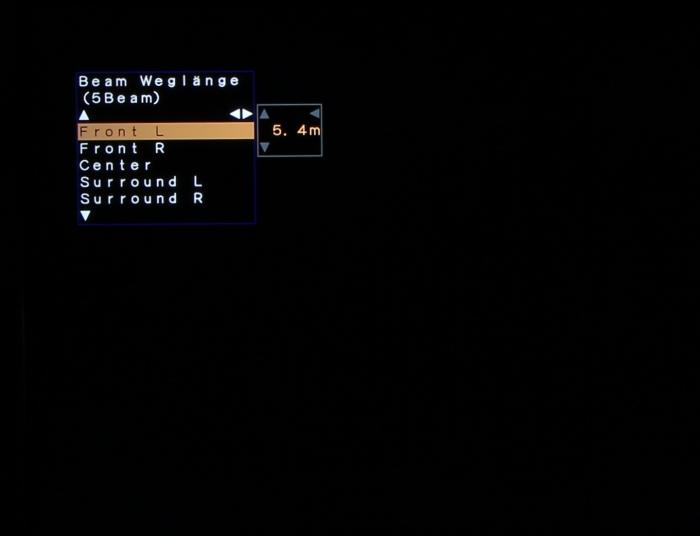 Yamaha YSP-2500 Screenshot 4