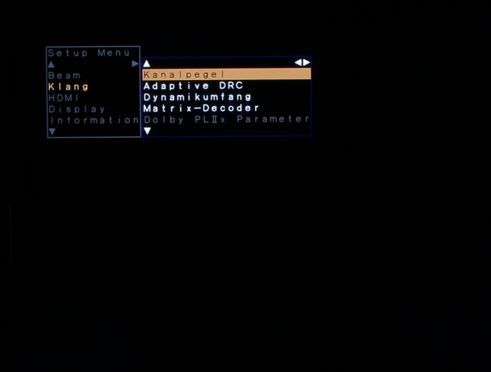 Yamaha YSP-2500 Screenshot 8