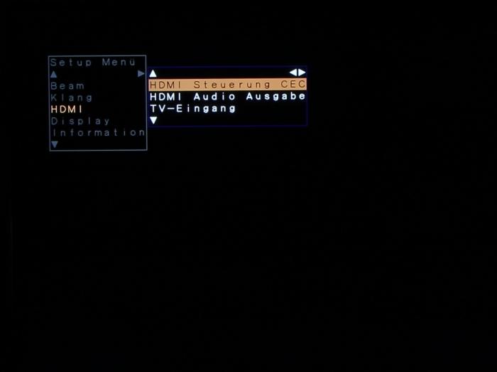 Yamaha YSP-2500 Screenshot 9