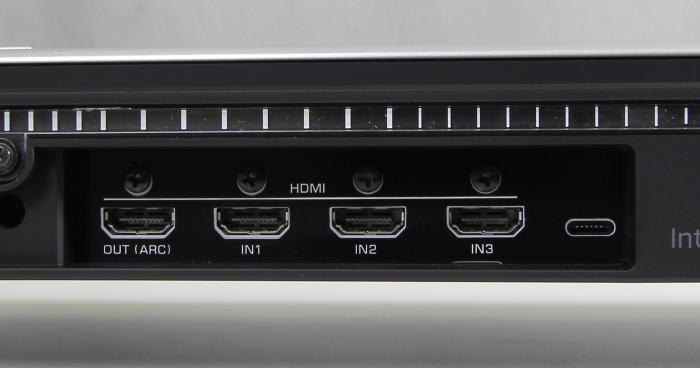 Yamaha YSP-2500 Soundbar Anschluesse Rueckseite2