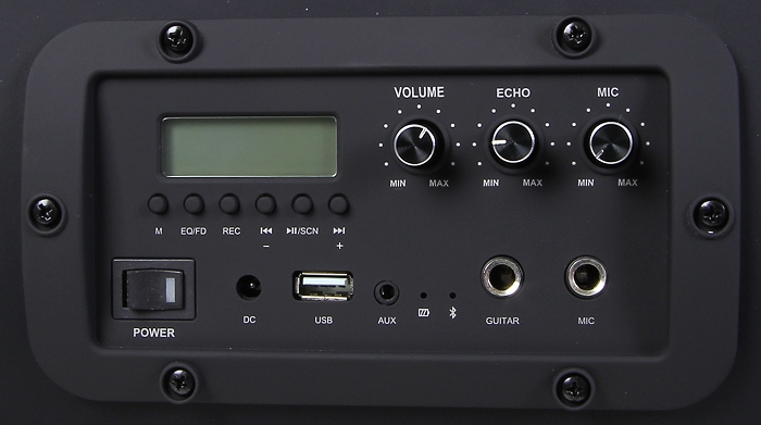 Auna Soundstorm Bedienelemente Display2