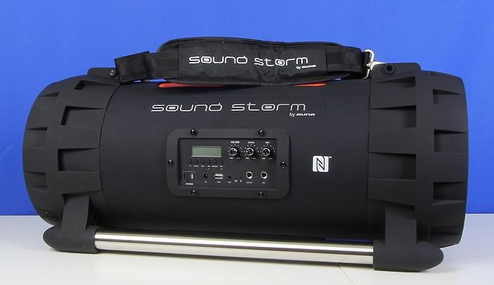 Auna Soundstorm Front Seitlich4