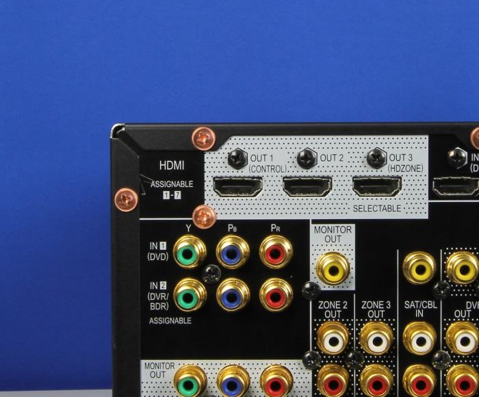 Pioneer SC-LX88 Anschluesse Rueckseite5