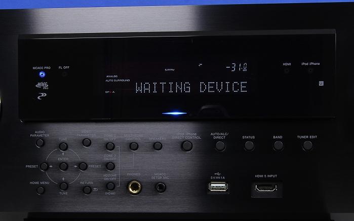 Pioneer SC-LX88 Display Bedienelemente Frontklappe2