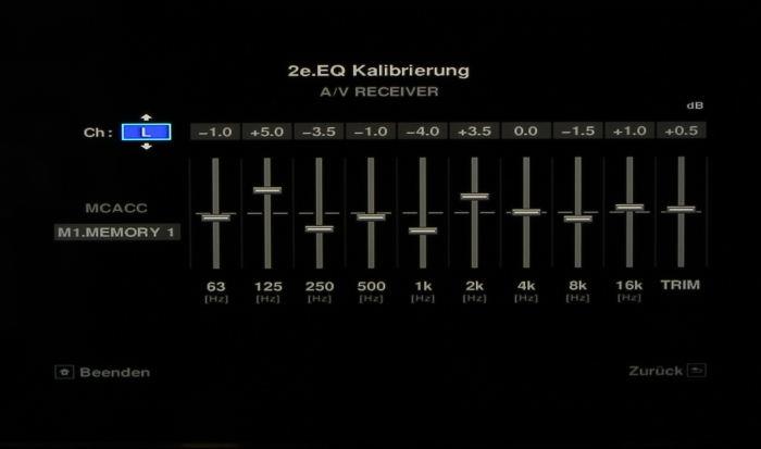 Pioneer SC-LX88 Screenshot 19