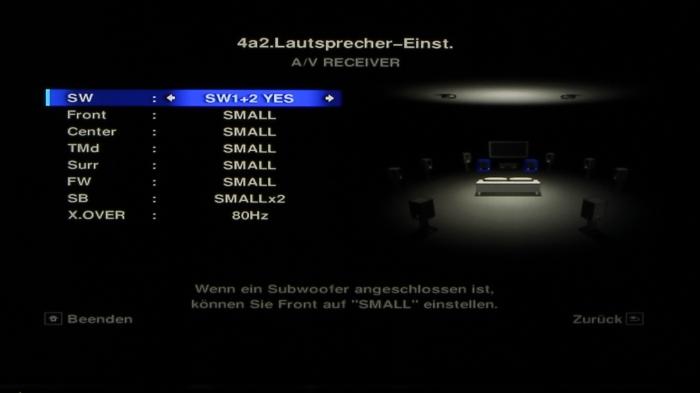 Pioneer SC-LX88 Screenshot 5