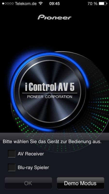 Pioneer iControl AV 5 1