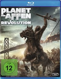 Planet der Affen Revolution Blu-ray Disc