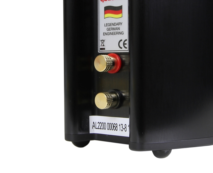Quadral Aluma 2200 Speaker Anschluesse Rueckseite