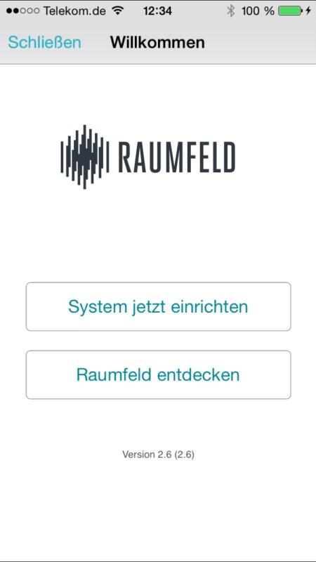 Teufel Raumfeld Controller App 1