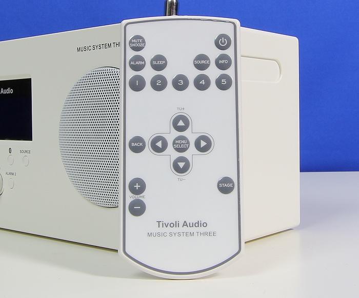 Tivoli Music System Three Plus Fernbedienung