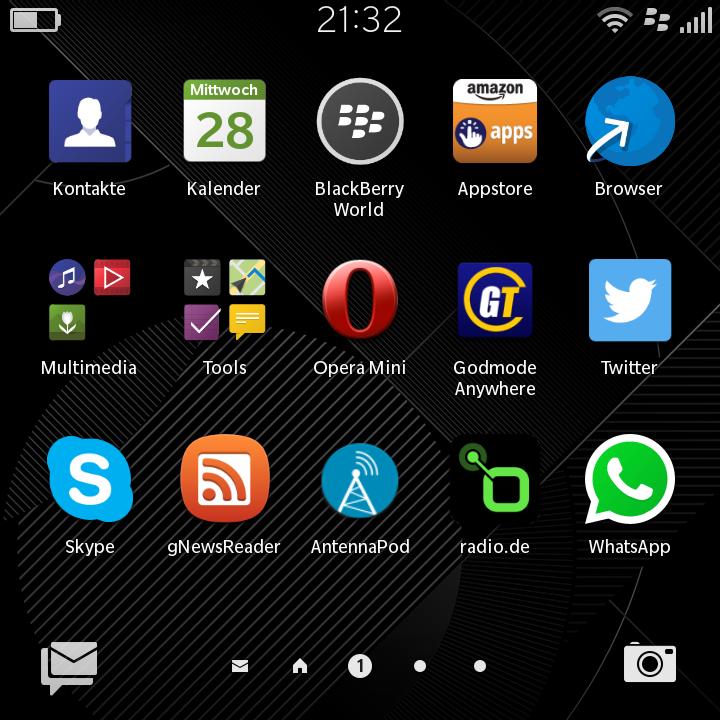 Blackberry Classic 10