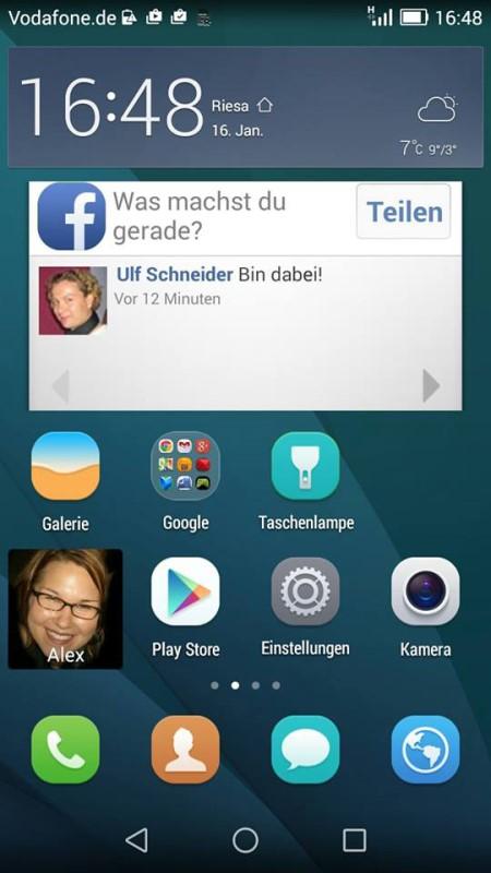 Huawei Ascend G7 Screen