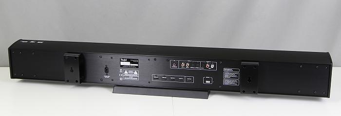 Teufel Cinebar52 THX Soundbar Rueckseite Seitlich2