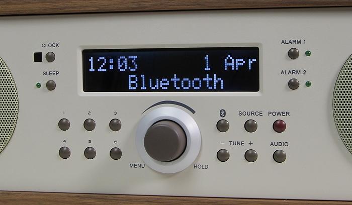 Tivoli Music System Two Plus Bedienelemente Display