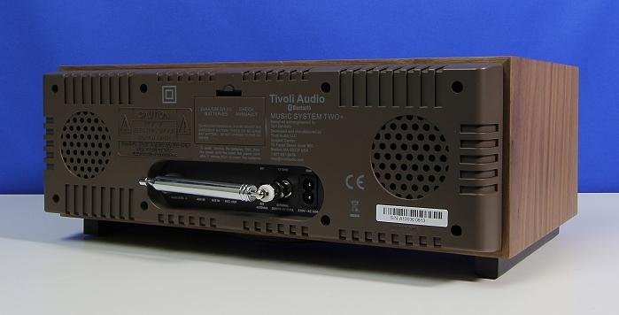 Tivoli Music System Two Rueckseite Seitlich