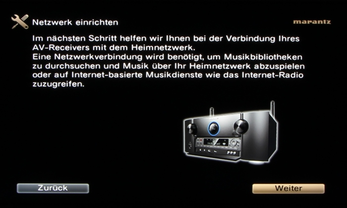 Marantz SR7009 Screenshot 12
