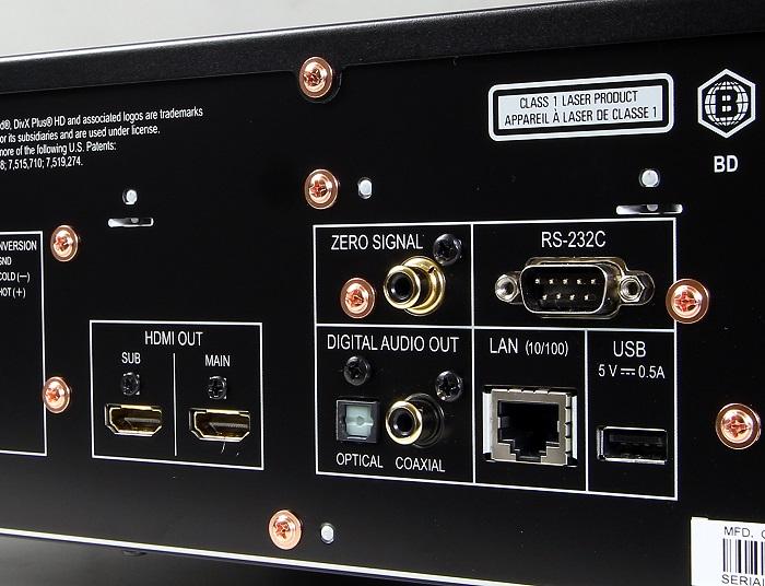 Pioneer BDP-LX88 Anschluesse Rueckseite2