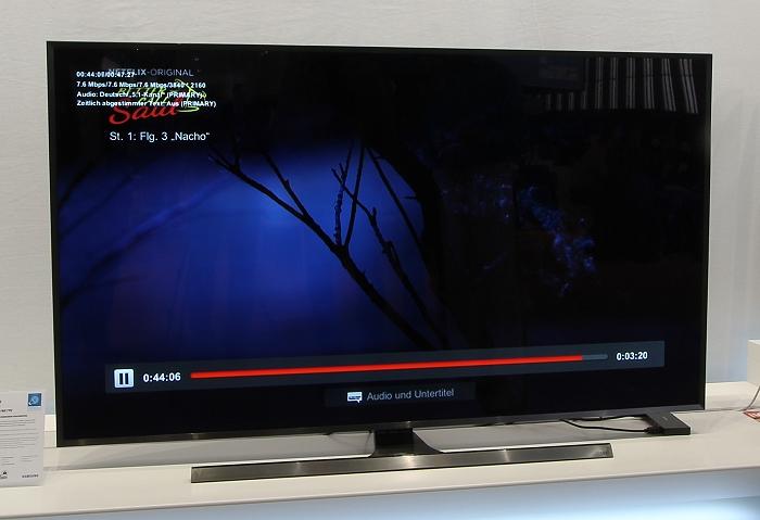 Samsung JU7090 Front Seitlich