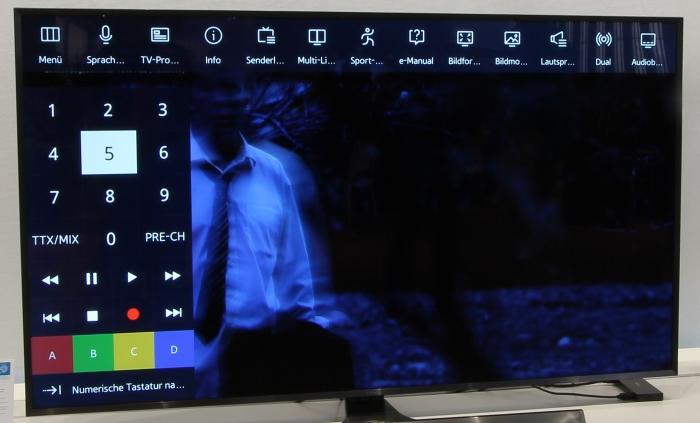 Samsung Tizen Menue 1