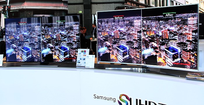 Samsung Vergleich UHD vs. SUHD