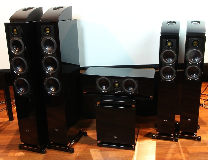 Elac Surround-Set Gruppenbild2