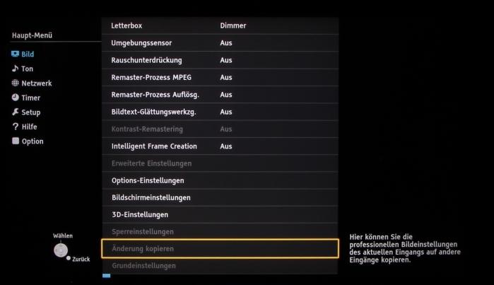 Panasonic TX-65AXW904 Screenshot 21