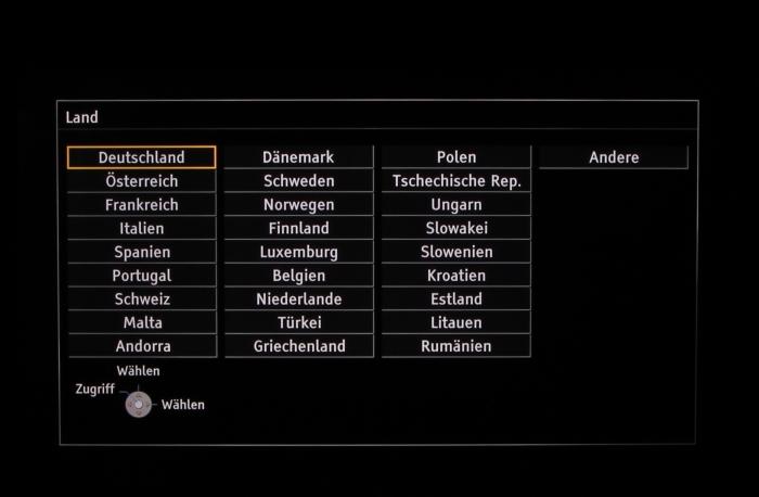 Panasonic TX-65AXW904 Screenshot 5