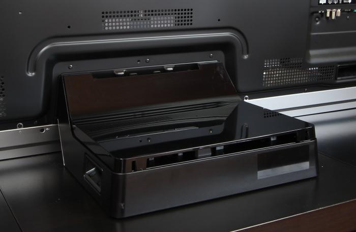 Panasonic TX-65AXW904 Standfuss Rueckseite
