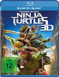 Teenage Mutant Ninja Turtles Blu-ray Disc