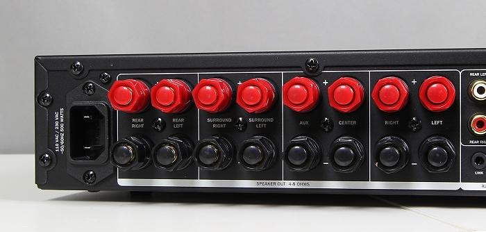 Teufel LT5 Complete Performance Ampstation Anschluesse2