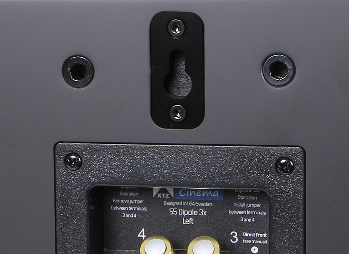 XTZ Cinema Series S5 Dipole Wandhalter