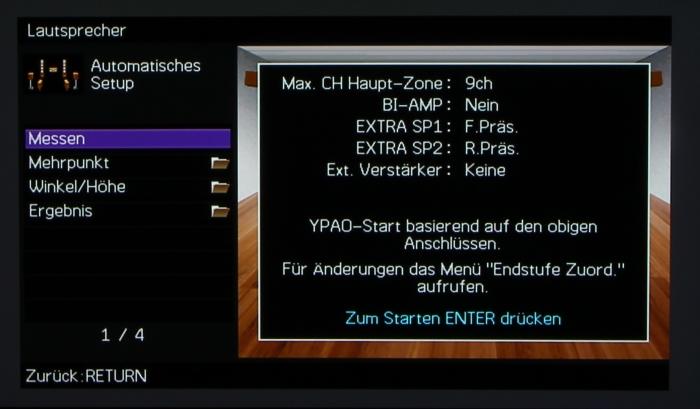 Yamaha RX-A3040 Screenshot 2