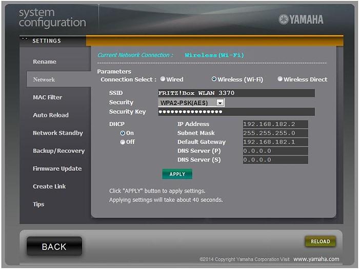 yamaha_webcontrol_network