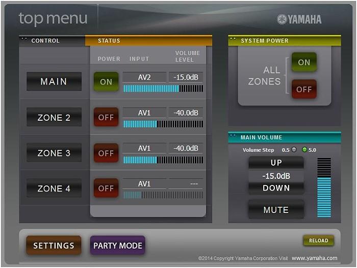 yamaha_webcontrol_uebersicht