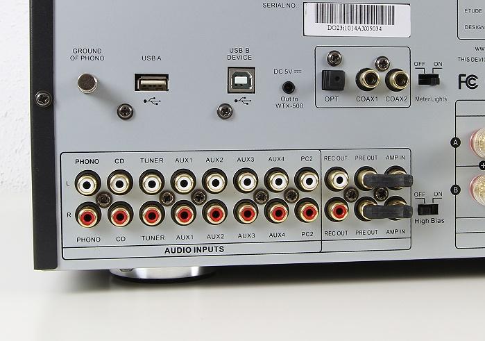 Advance Acoustic X-i120 Anschluesse Rueckseite1
