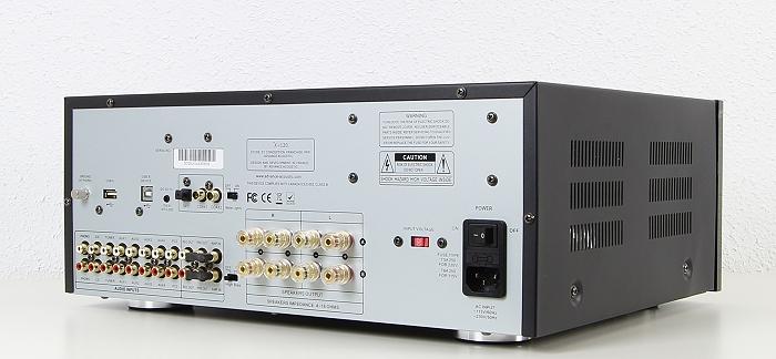 Advance Acoustic X-i120 Rueckseite Seitlich